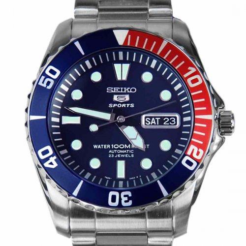 Seiko 5 Pesi Bezel Divers Style Watch SNZF15K1