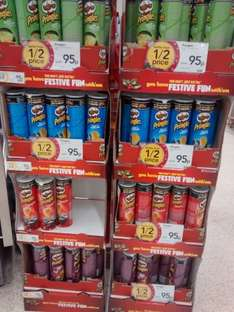 Pringles tube, various flavours better than half price 95p instore at Wilkinsons