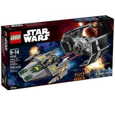 LEGO 75150 Star Wars Vader's TIE Advanced Vs A-Wing Starfighter @ Asda for £40