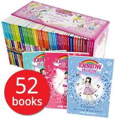 The Book People - A Year of Rainbow Magic Boxed Collection - 52 Book set £22.75 OR £19.80 with free del if spending 25+  [Using code / see post for more]