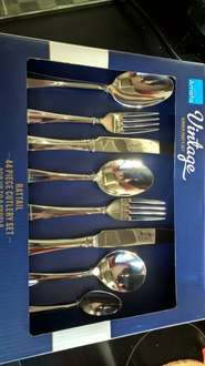 MORRISONS ARE SELLING FOR ONLY £15 - AMEFA 44 PIECE CUTLERY SET