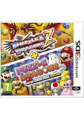 Puzzle & Dragons Z + Puzzle & Dragons Super Mario Bros. Edition - Nintendo 3DS £7.85 Delivered @ Base.com
