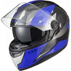 Agrius Rage SV Fusion Motorcycle Helmet (Pinlock Ready) - ONLY £38.24 (RRP: £89.99) delivered @ GhostBikes.com