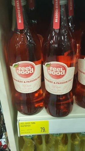 Feel Good drinks 750ml 79p @ bandm