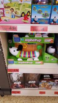 Green Leapfrog Alpha Pup £3.75 from £15 Sainsburys instore