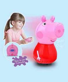 Peppa Pig inflatable remote control toy, half price @ Mothercare £12.49