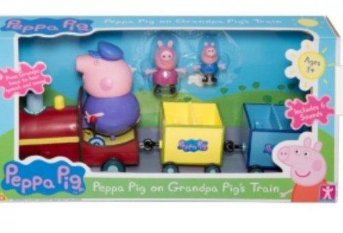 Peppa Pig Grandpa Train - £8.99 B&M