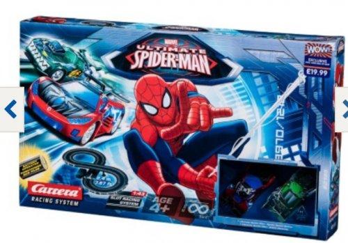 Spiderman racetrack - £13.49 B&M