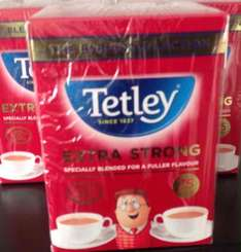 75 Extra Strong Tetley Tea Bags £2.00 @ Sainsburys