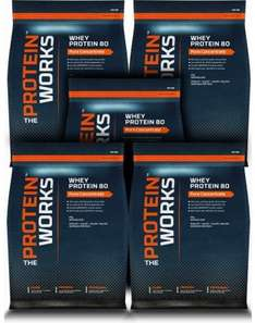 50% off Whey at The Protein Works