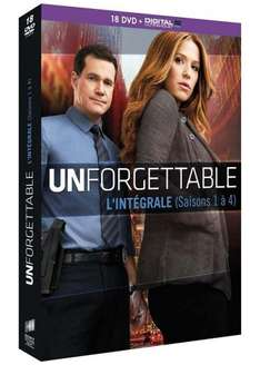 Unforgettable - Complete Seasons 1-4 DVD Boxset £23.56 including delivery @ Amazon France