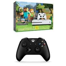 Xbox One S (500gb) with Minecraft + Extra Controller - Amazon - £204.99