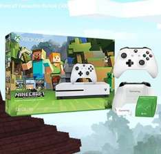 xbox One S Minecraft Favourites Bundle + Forza Horizon 6 (or Extra controller) + Battery Hatch & £10 Store voucher £199.99 @ Microsoft Store