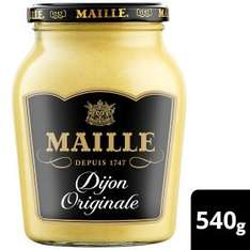 Maille Dijon Original Mustard (540g) was £2.98 now £2.00 (Rollback Deal) @ Asda