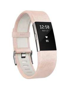 FitbitCharge 2™ Leather Accessory Band £59.99 @ Very