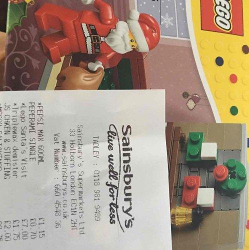 LEGO Santas visit Sainsburys-Tadley - £7