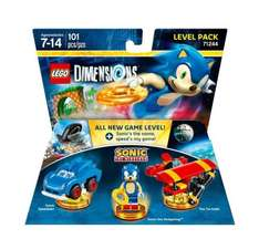 Lego Dimentions Level, Team and Character Packs - Asda In Store (E.g Sonic - £19.00)