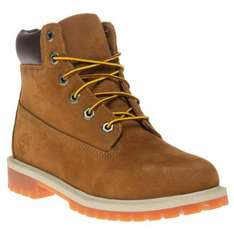 Rust Timberland Boots Sizes 3.5 - 6.5 Use Code: BF10 for extra 10% off + free delivery - £89.10 soletrader