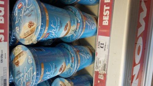 Muller light Greek style yoghurt 3 x 500g £1.00 instore @ Heron
