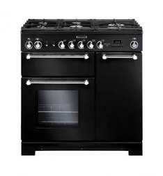RANGEMASTER Kitchener 90 Dual Fuel Range Cooker, (potentially £852.89 with code and cashback) @ Curry's