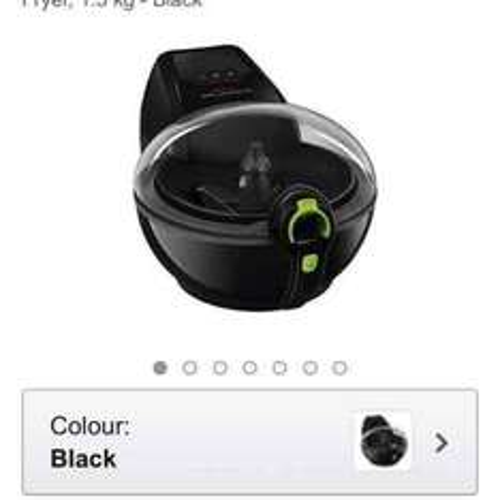 Tefal ActiFry Family Express XL Low Fat Healthy Fryer, 1.5 kg Black - £114.74  Amazon