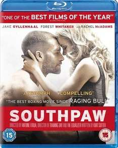 Southpaw (Blu-Ray) £4.19 Delivered @ Music Magpie (£4.20 MM via Amazon)
