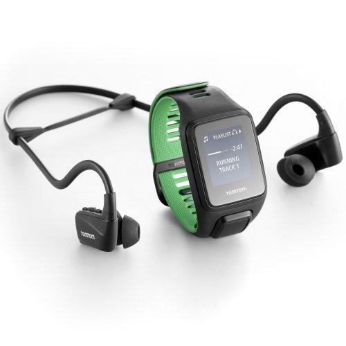 Tomtom Runner 3 large GPS + cardio + music + bluetooth headphones £170.58 @ Sweatband