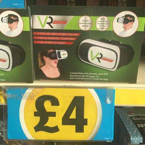 VR headset £4 @ Poundland