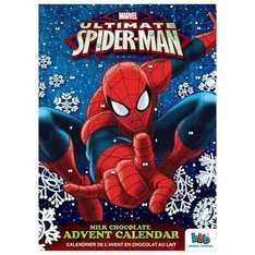 Advent Calendars including Marvel, Spiderman, Superheroes, Frozen instore @ Home Bargains - 59p
