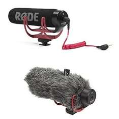 RØDE VideoMic GO On Camera Microphone - Black/Red with DeadCat 49.99 Amazon.co.uk