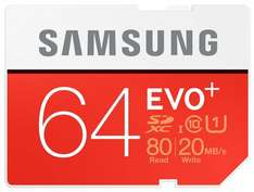 Samsung EVO+ 64GB SDXC Card  £9.02 Picstop