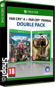 FAR CRY 4 & FAR CRY PRIMAL DOUBLE PACK SHOPTO.NET £24.86