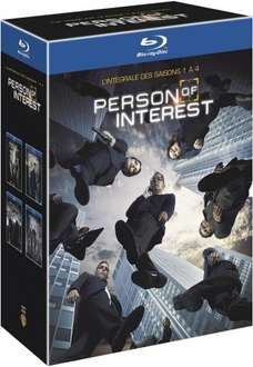 Person of Interest - Seasons 1-4 BLU-RAY Boxset £19.54 including delivery (DVD Boxset also available at the same price) @ Amazon France