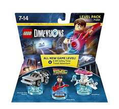 Lego Dimensions - Back to the Future Level Pack - Amazon: £14.24 Prime Exclusive