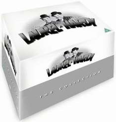 Laurel & Hardy - The Collection (21 Disc), Zavvi £21.99