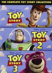 The Complete Toy Story Collection: Toy Story / Toy Story 2 / Toy Story 3 DVD £7.50 prime / £9.49 non prime @ Amazon