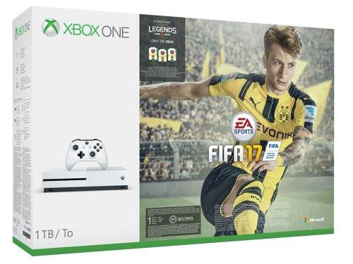 Xbox One Console S 1TB + Fifa 17 £235 @ Ebay / shopto
