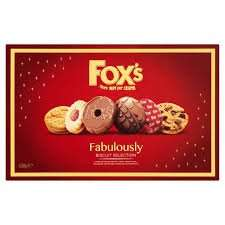 Fox's Fabulously Biscuit Selection 600g only £2.49 at Heron Foods!