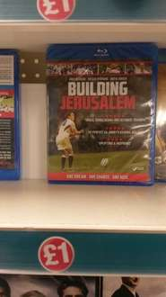 Building Jerusalem Blu-Ray Rugby World Cup Winning Team Documentary Film £1 In-Store at Poundland