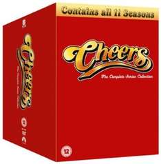 Cheers: Seasons 1-11 (Box Set) [DVD] £18.80 (including free delivery) using code SIGNUP10 @ zoom.co.uk