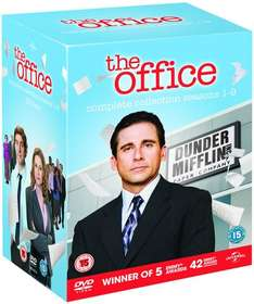 The Office - An American Workplace: Seasons 1-9 (Box Set) [DVD] £21.68 (includes free delivery) using code SIGNUP10 @ zoom.co.uk