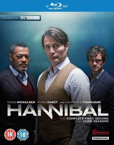 Hannibal Season 1-3 Blu-ray £15.29 (with code) @ Zavvi