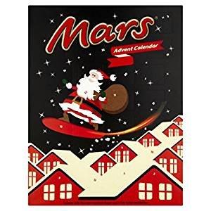 Pack of 11Mars advent calendar 111g. £9.99 delivered Lightning deal @ Amazon