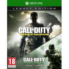 Call of Duty: Infinite Warfare Legacy Edition (Xbox One) INCLUDES MW REMASTERED - Amazon Warehouse Deals - £37.59