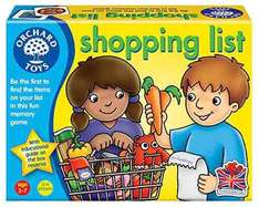 Orchard toys Shopping list Game £2.64 @ Amazon (add on item)
