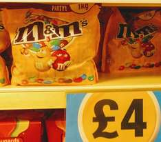 M&M's Peanuts 1kg £4 in Poundland