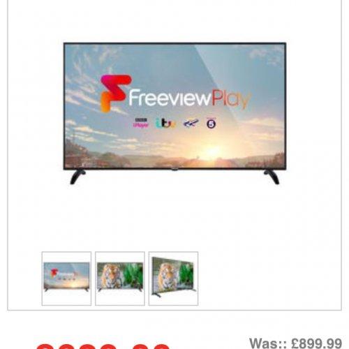 Finlux 65-FUA-8020 65-inch 4K Ultra £630 @ Appliances Direct