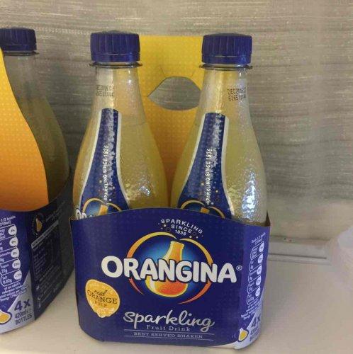 orangina 4x420ml bottles in heron 99p