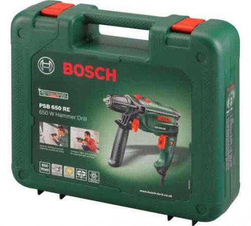 Bosch PSB 650RE hammer drill £29.99 @ Argos C&C