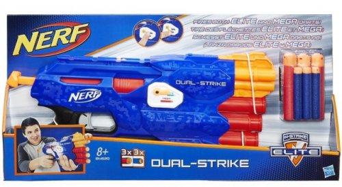 Nerf NStrike Dual-Strike Blaster £12.50  (Prime) @ amazon